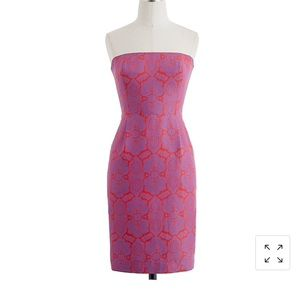 J. Crew Ella Dress in Medallion Paisley; sz 12